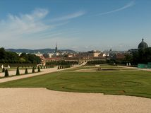 View of Vienna. Austria royalty free stock photo