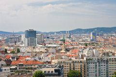 View of Vienna. Austria Stock Images