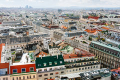 View on Vienna city center Royalty Free Stock Photos