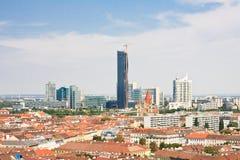 View of Vienna from the Ferris wheel. Austria Stock Photo