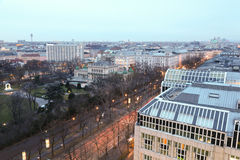 View on Vienna from roof Stock Photography