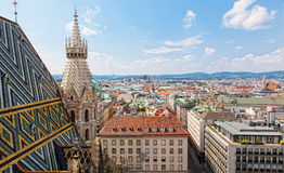 View of Vienna Royalty Free Stock Image