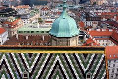 View of Vienna Royalty Free Stock Photo