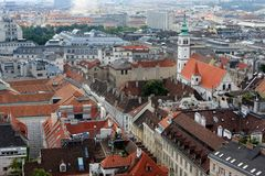 View of Vienna Royalty Free Stock Images