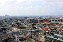 View of Vienna Stock Photo