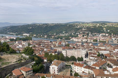 A view of Vienne Royalty Free Stock Image