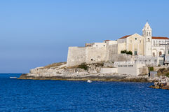 View of Vieste, Italy Stock Photography