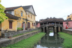 View of Vietnam Hoi An Ancient Town street Royalty Free Stock Photography