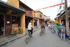 View of Vietnam Hoi An Ancient Town street Stock Images