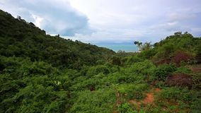 View from view point of Samui island. In Thailand stock video footage