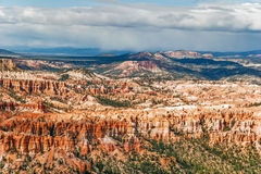 View from viewpoint of Bryce Canyon. Utah. USA Stock Image