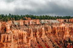 View from viewpoint of Bryce Canyon. Utah. USA Royalty Free Stock Photos