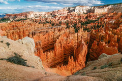 View from viewpoint of Bryce Canyon. Stock Images