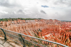View from viewpoint of Bryce Canyon. Utah. USA Royalty Free Stock Image