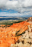 View from viewpoint of Bryce Canyon. Utah. USA Royalty Free Stock Photography