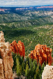 View from viewpoint of Bryce Canyon. Utah. USA Stock Photography