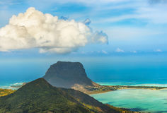 View from the viewpoint. Mauritius. Royalty Free Stock Photos