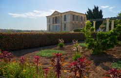 The view of Villa Bighi with garden. Kalkara. Malta Stock Photography