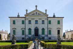 View of the Villa Cordellina Lombardi in Montecchio Maggiore, Veneto, Italy royalty free stock photo