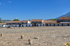 View of Villa de Leyva Stock Image