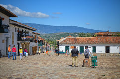 View of Villa de Leyva Royalty Free Stock Photography