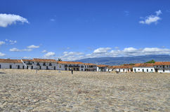 View of Villa de Leyva Royalty Free Stock Images