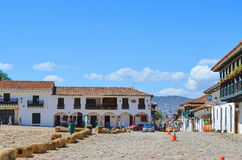 View of Villa de Leyva Royalty Free Stock Photos