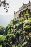 View of Villa del Balbianello, Lenno, Lake Como, Italy. View of Villa del Balbianello, Lake Como. The Villa was used as setting for several notable films stock photos
