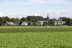 View on a village Stock Images