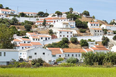 View on the village Aljezur Portugal Stock Images