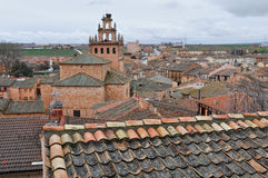 Village of Ayllon, Segovia (Spain) Stock Images
