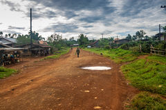 View of a village Ban Nong Luang Stock Image