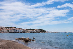 View of village of Cadaques, Spain Stock Photography