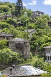 Village of Kosovo with Authentic nineteenth century houses, Plovdiv Region, Bulgaria. View of village of Kosovo with Authentic nineteenth century houses, Plovdiv royalty free stock image