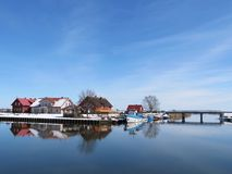 Village Minge, Lithuania Stock Image