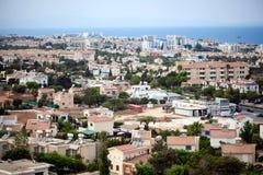 View on a village near  Protaras , Cyprus Royalty Free Stock Photos