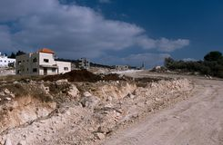 View of a village in Palestine Royalty Free Stock Photography