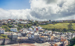 View at village Port Isaac Royalty Free Stock Photo