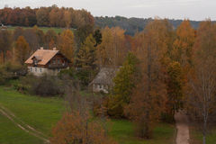 View on the village Stock Image