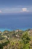 View of the village Sant Andrea, Elba, Tuscany, Italy Royalty Free Stock Photos