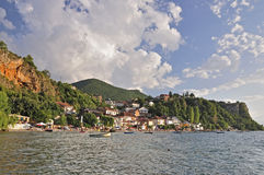 A view at village Trpejca Royalty Free Stock Image