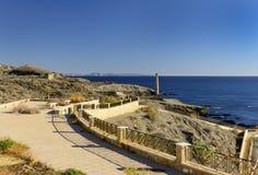 View Villaricos to Aguilas. Almeria Province, Andalusia, Spain Stock Photo