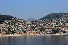 View of Villefranche Royalty Free Stock Photo