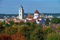 View of Vilnius Royalty Free Stock Image