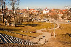 View of Vilnius Royalty Free Stock Photography