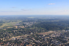 View of Vilnius from birds eye Stock Photos