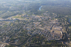 View of Vilnius from birds eye Stock Photos