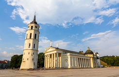 View of Vilnius Cathedral Stock Image