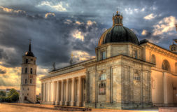 View of Vilnius Cathedral Royalty Free Stock Photo
