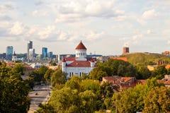 View of Vilnius Royalty Free Stock Photo